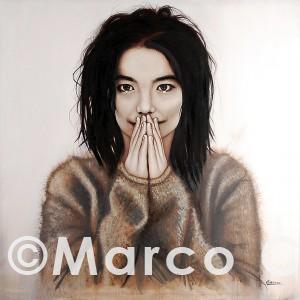 Björk – Ritratti Marco Cafaro web
