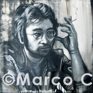 John lennon – Ritratti Marco Cafaro web