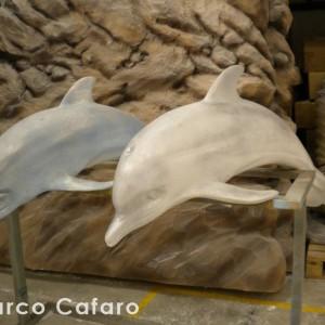Sculture polistirolo Marco Cafaro web (11) delfini
