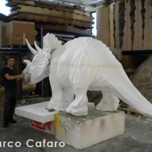 Sculture dinosauro polistirolo Marco Cafaro web (6)